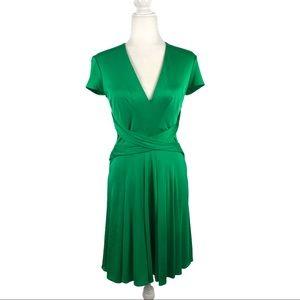 Issa London  100% Silk Wrap Dress Kate Middleton 8